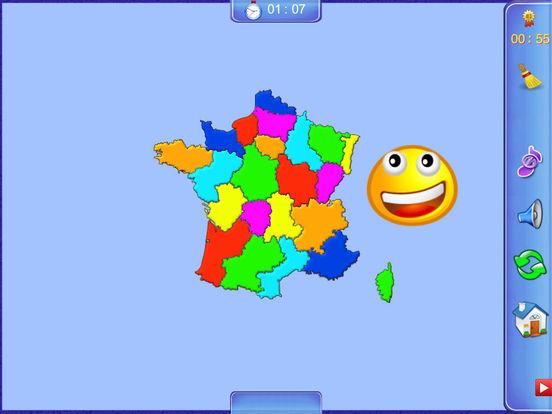 France Puzzle Map iPad Screenshot 5