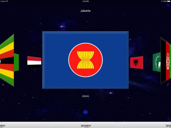 Flags and Capitals iPad Screenshot 1