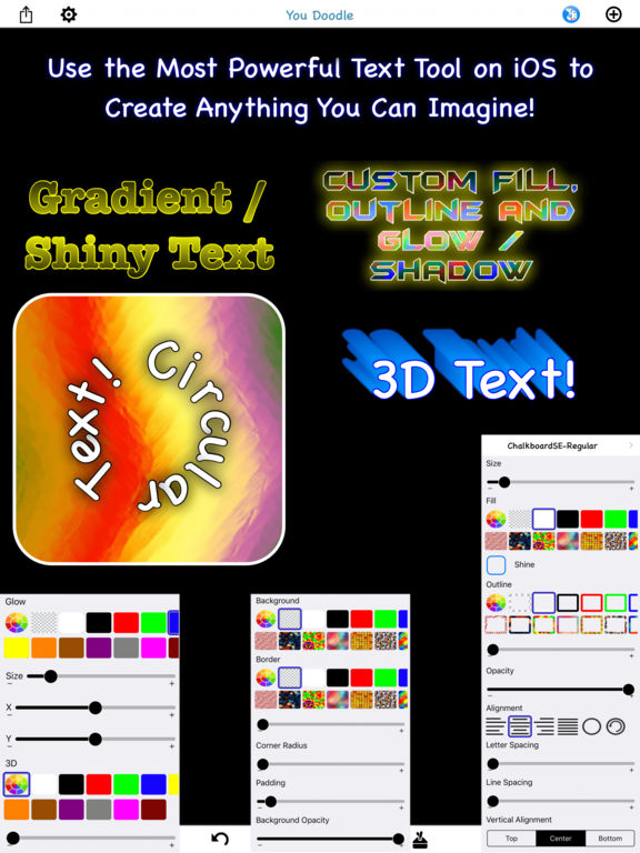 You Doodle Pro - draw on pictures, picture editor Screenshots