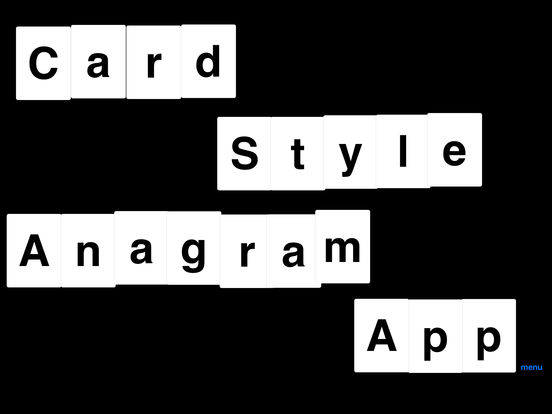 App Shopper Anagram Games