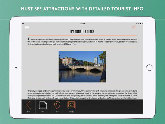 Dublin: Travel Guide iPad Screenshot 3