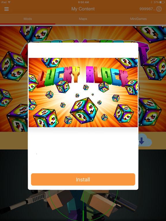 Mods for Minecraft Pocket Mine Edition Screenshots