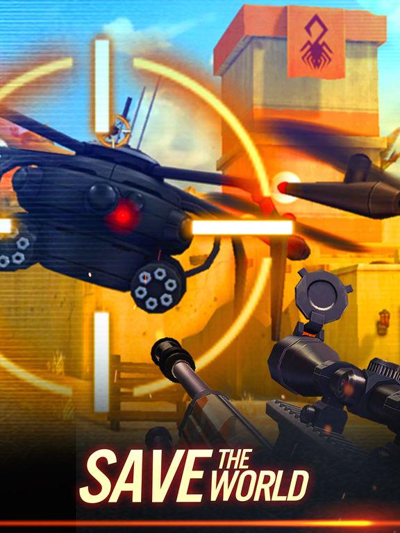 Sniper X with Jason Stathamscreeshot 2