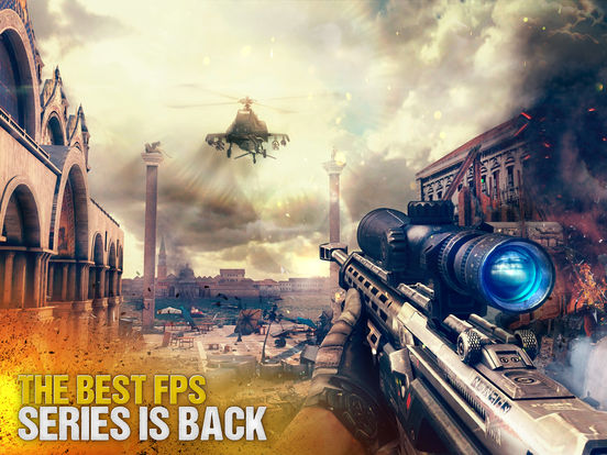 Screenshots of Modern Combat 5: Blackout for iPad