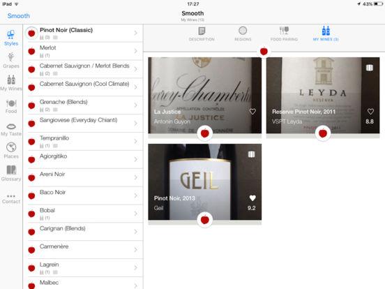 Pocket Wine iPad Screenshot 3