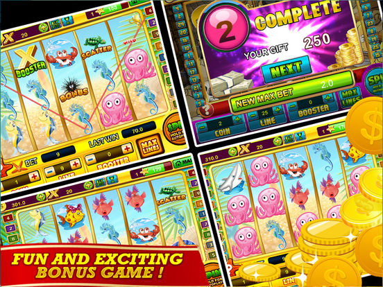 Casino slot gold fish husrap for Fish casino slot
