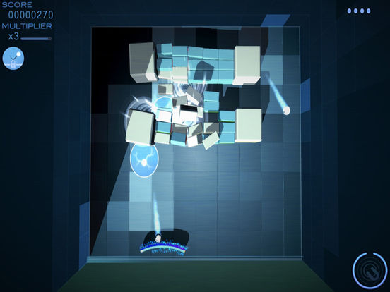 Grey Cubes: Unique 3D Brick Breaker Screenshot