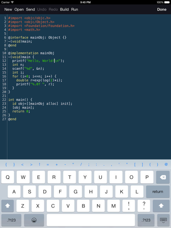 Objective-C Programming Language screenshot
