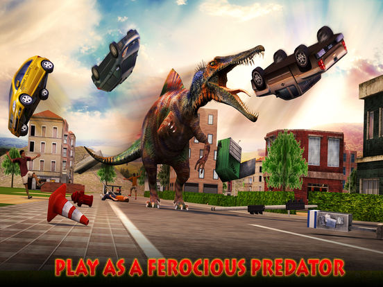 Dino City Rampage 3D на iPad