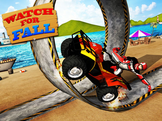Beach Bike Stunts 2016 на iPad