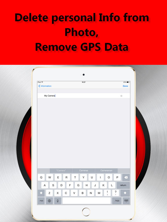 EXIF Editor. GPS Data Remover Screenshots