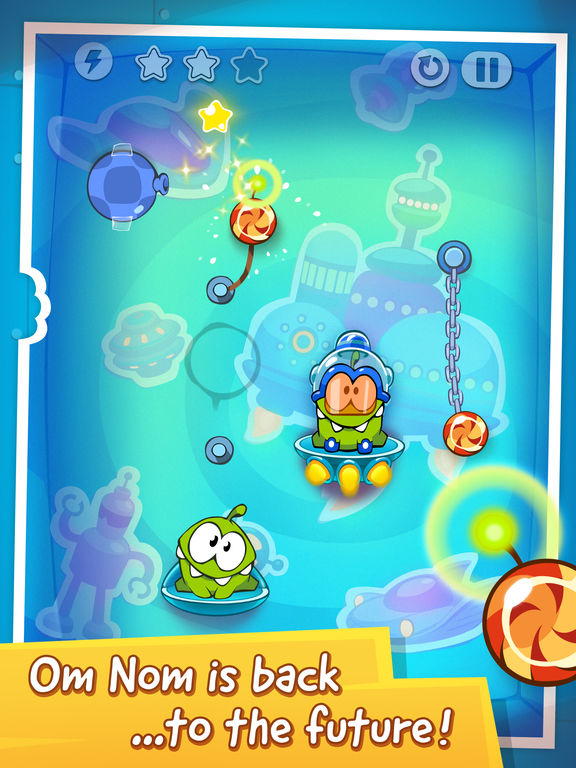 Screenshot #4 for Cut the Rope: Time Travel HD