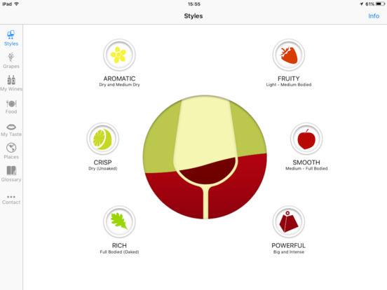 Pocket Wine iPad Screenshot 1