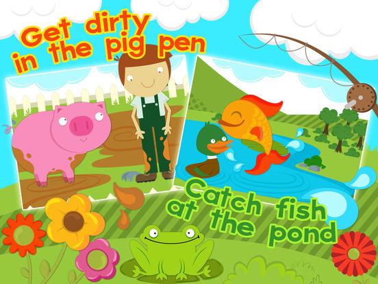 Ферма животных Игры для детей Пазлы бесплатные