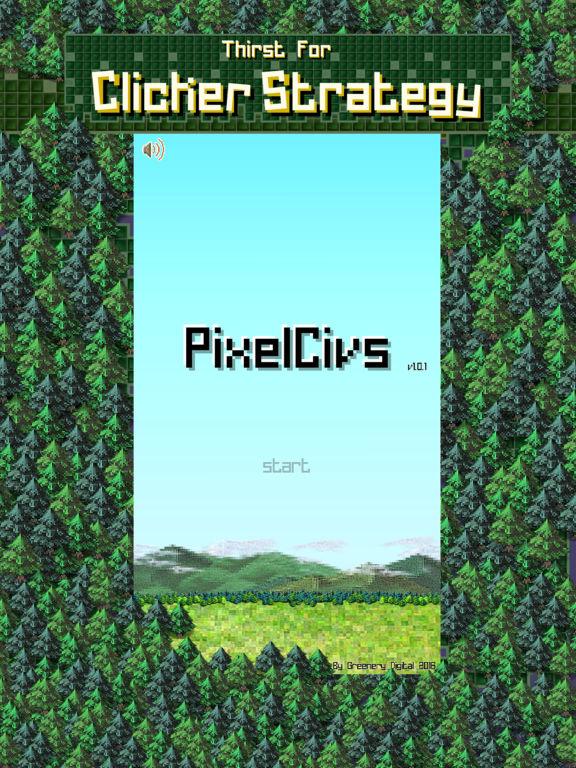 PixelCivs на iPad