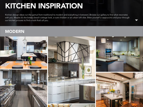 App shopper thermador kitchen design planning guide for Kitchen design guide
