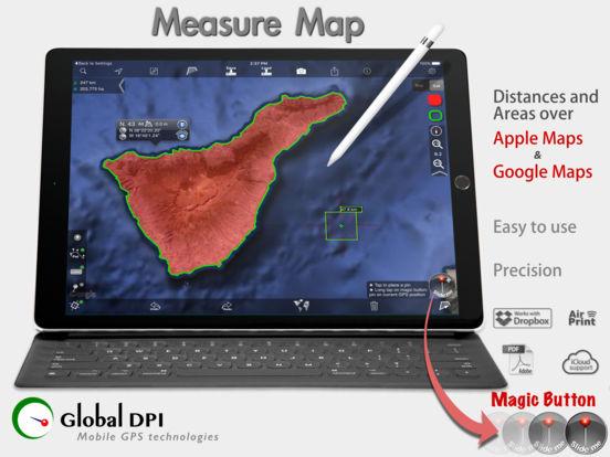 Measure Map iPad Screenshot 1