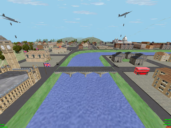 Defend London 3D Lite iPad Screenshot 3