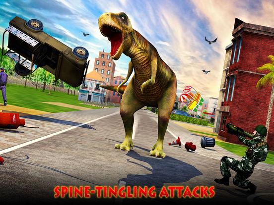 Dino City Rampage 3D для iPad