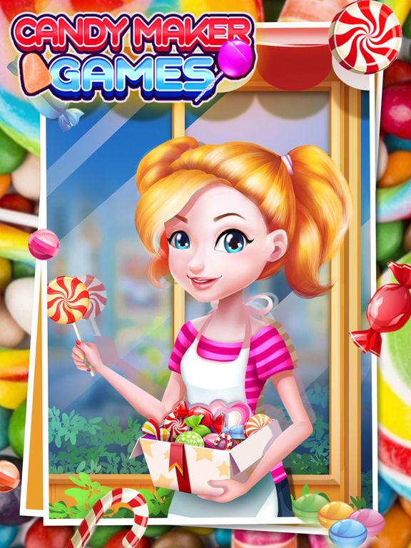 Candy Maker - best cooking gamesscreeshot 1