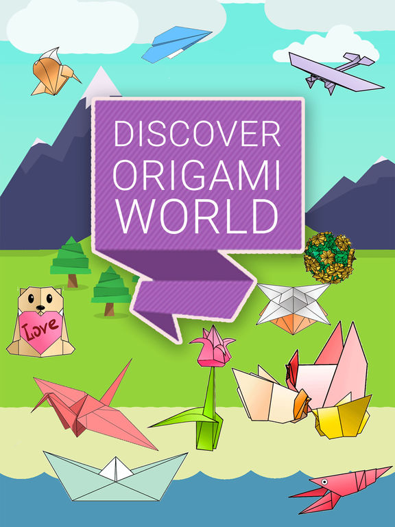 ORIGAMI 3D: explore new magic paper creations screenshot