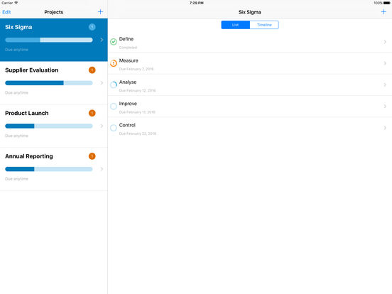 Project Express - Easy Project Management Screenshots