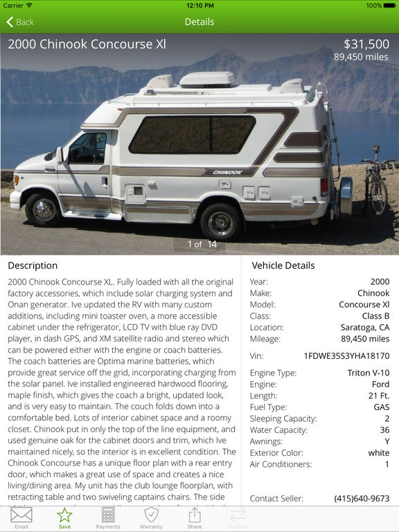 Unique New And Used RV Motorhomes For Sale RVHotline Canada Trader