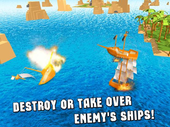 Pixel Pirate Ship Simulator 3D Full screenshot 6