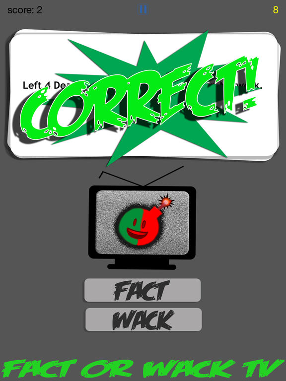 FACT OR WACK TV screenshot 8