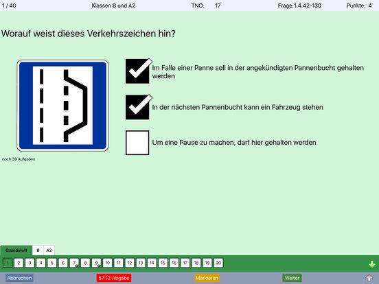 iFührerschein 2017 Theorieprüfung Fahrschule Screenshots