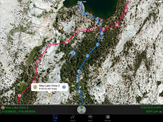 SMS a GPS iPad Screenshot 1