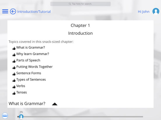 Grammar for iPad iPad Screenshot 5