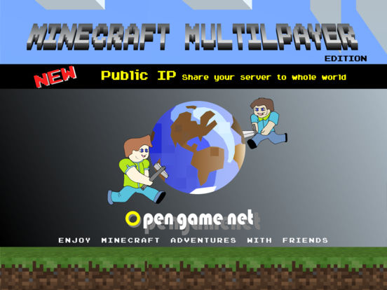 Multiplayer for minecraft edition with Public IP Screenshots