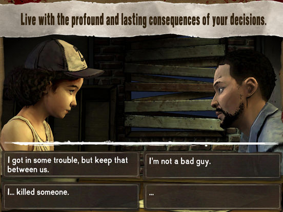Screenshot #4 for Walking Dead: The Game
