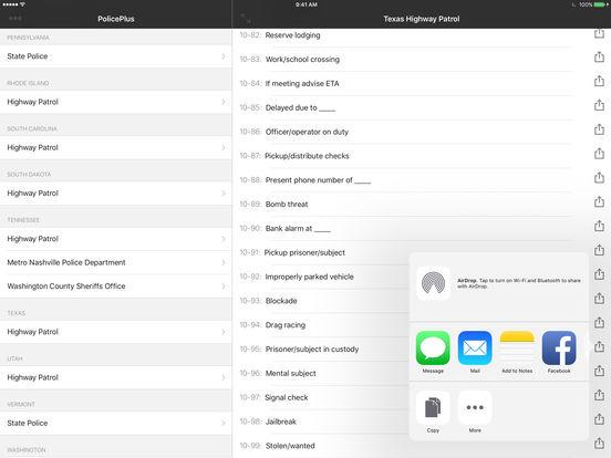 PolicePlus iPad Screenshot 4