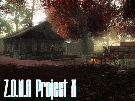Z.O.N.A Project X Redux на iPad