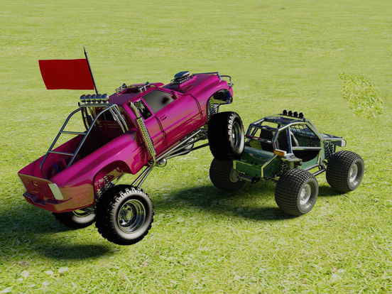 monster truck fighting games