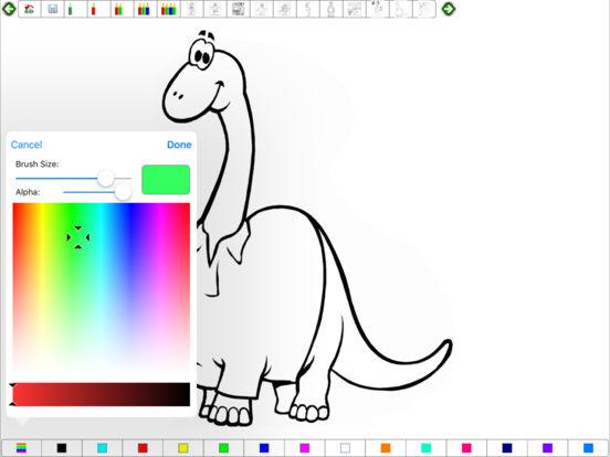 Coloring Book for iPad iPad Screenshot 1