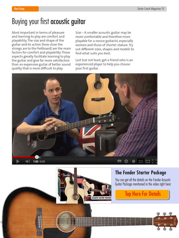 Guitar Coach Magazine: Play Songs, Riffs, & Licks screenshot
