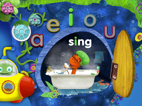 Tiggly Submarine: Preschool ABC Game. Скрин 1