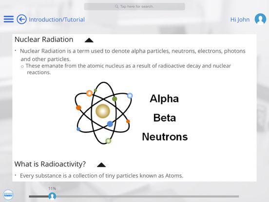 Nuclear Radiation for iPad iPad Screenshot 3