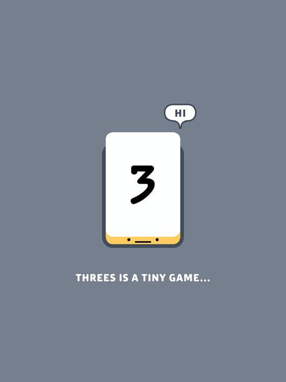 Screenshots of Threes! for iPad