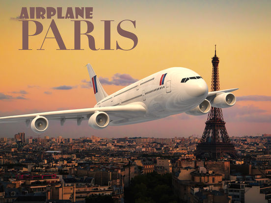 Airplane Paris на iPad