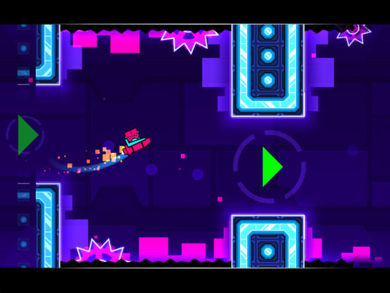 Screenshots of Geometry Dash Meltdown for iPad