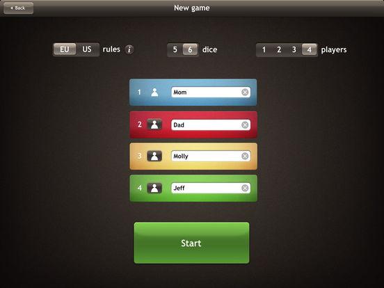 Yatzy iPad Screenshot 4