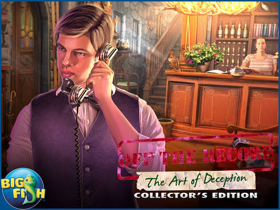 Игра Off The Record: The Art of Deception HD - A Hidden Object Mystery