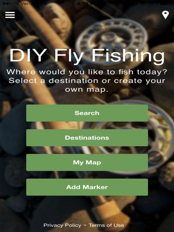DIY Fly Fishing Screenshots