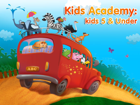 Preschool and Kindergarten learning kids games for girls & boys ∙ Learn to read interactive ABC, alphabet tracing, phonics song with educational app based on Montessori match letter quiz & logical math puzzle games for toddler iPad free by Kids Academy screenshot