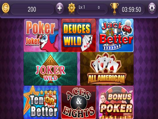 Jackpot Video Poker - Free Casino Poker Gamesscreeshot 3