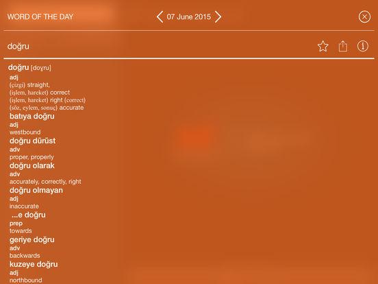 Collins Gem Turkish Dictionary iPad Screenshot 3